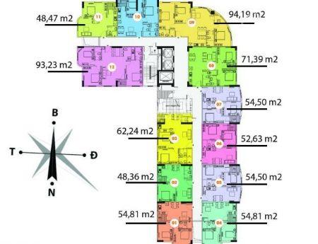 Tôi bán căn hộ 55m KĐT Mới Nghĩa Đô cửa chính Tây ban công Đông TK 2 phòng ngủ nhà THÔ giá 1.6 tỷ