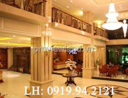 Khách sạn tại đường Nguyễn Trãi Quận 1 bán