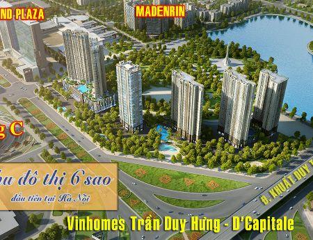 Gia Đình Cần Tiền Bán Gấp Căn C1 1106 dự án Vinhomes Dcapitale Trần Duy Hưng View Hồ
