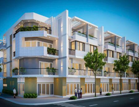 Mở bán nhà phố thương mại dự án City Gate 3,Q8.DT5x18m, 1 trệt 3 lầu. Giá 8,8 tỷ(VAT)