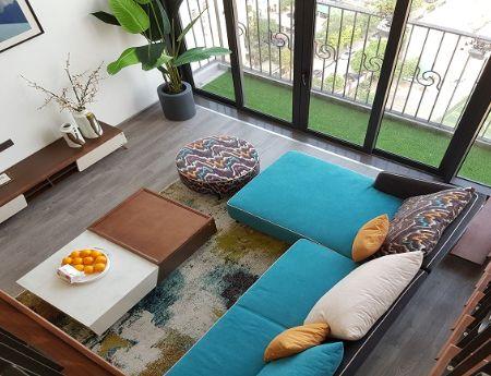 Cho thuê căn hộ 1PN, đầy đủ nội thất cao cấp Tây Hồ, 75m2, view thoáng, đẹp