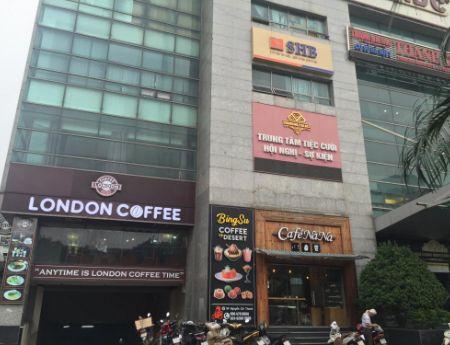 Cho thuê mặt bằng thương mại tòa nhà M5 Nguyễn Chí Thanh